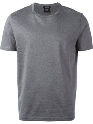 Hugo Boss 'Tiburt' T Shirt Grey