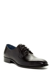 Joseph Abboud Harris Cap Toe Oxford Black
