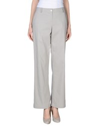 Liviana Conti Trousers Casual Trousers Women Light Grey