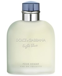 Dolce And Gabbana Light Blue Pour Homme Eau De Toilette Spray 6.7 Oz No Color