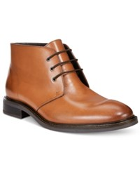 Alfani Men's Lombard Plain Toe Chukka Boots Only At Macy's Men's Shoes Tan