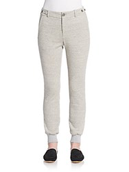 Vince Heathered Jogger Pants Heather Grey