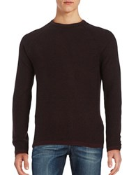 Selected Ribbed Crewneck Sweater Fudge