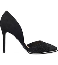 Kg By Kurt Geiger Charm Leather Courts Black