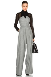 Marissa Webb Candy Jumpsuit In Gray