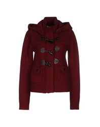 Essentiel Coats And Jackets Jackets Women Maroon