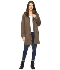 Obey Saxon Parka Military Olive Women's Coat