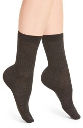 Pantherella Women's 'Rose' Trouser Socks Charcoal