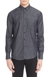 Rag And Bone Men's Rag And Bone Trim Fit Three Quarter Placket Shirt