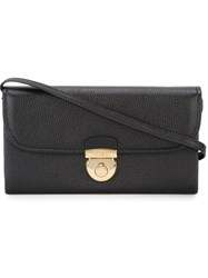 Salvatore Ferragamo Flap Crossbody Bag Black