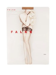 Falke Invisible Deluxe 8 Hold Ups Nude