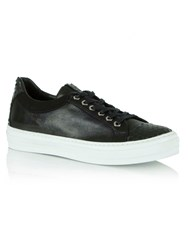 Daniel Svenja Lace Up Trainers Black