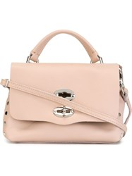 Zanellato Small 'Postina' Satchel Pink And Purple