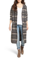 Rip Curl Women's Long Road Stripe Knit Cardigan