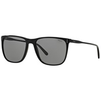 Polo Ralph Lauren Ph4102 Square Framed Sunglasses Black
