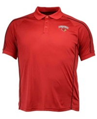 Colosseum Men's Louisville Cardinals Pitch Polo Red