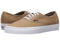 Vans Authentic Deck Club Khaki Skate Shoes Beige