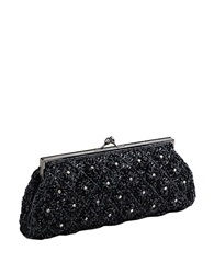Carlo Fellini Sofia Clutch Handbag Black