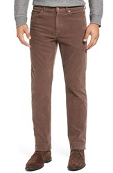 Peter Millar Men's Tailored Straight Leg Stretch Corduroy Pants Bison