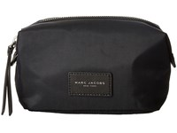 Marc Jacobs Nylon Biker Cosmetics Landscape Pouch Black Travel Pouch