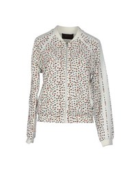 Maison Scotch Coats And Jackets Jackets Women Ivory