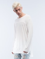 Stampd Chamber Scallop L S T Shirt