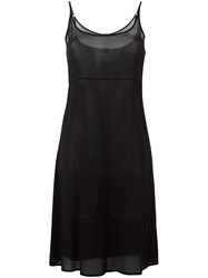 Kristensen Du Nord Knee Length Shift Dress Black