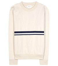 Wood Wood Maxine Cotton Blend Sweatshirt Beige
