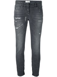 Faith Connexion Cropped Jeans Grey