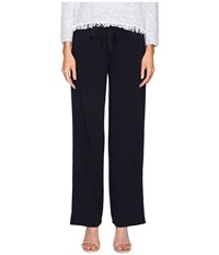 Theory Winszlee Admiral Crepe Pants Deep Navy Women's Casual Pants