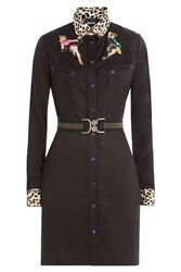 Just Cavalli Embroidered Shirtdress Gr. It 38