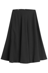 Jil Sander Navy Skirt With Wool Black