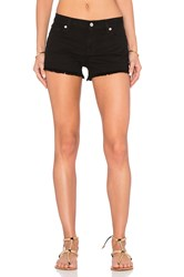 7 For All Mankind Cut Off Short Black