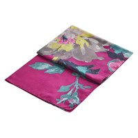 Joules Wensley Floral Print Scarf Fuchsia Multi