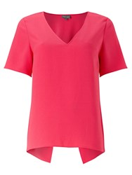 Phase Eight Danae Crepe Blouse Pink