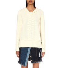 Steve J And Yoni P Sailor Knitted Jumper Ivory