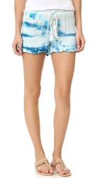 Young Fabulous And Broke Melody Shorts Pacific Blue