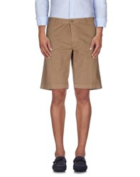 Pence Trousers Bermuda Shorts Men Khaki