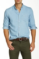 Dockers Long Sleeve Chambray Classic Fit Shirt