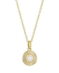 Ippolita 18K Lollipop Mini Mother Of Pearl And Diamond Pendant Necklace Women's