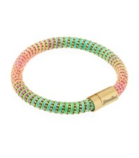 Carolina Bucci Neon Twister Bracelet Yellow Gold Female