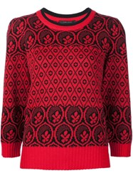 Marc Jacobs Intarsia Jumper Black