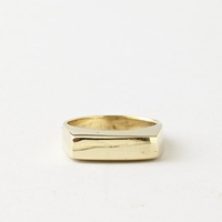 Steven Alan Pinky Ring Brass
