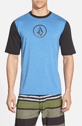 Men's Volcom 'Heather' Short Sleeve Rashguard