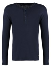Only And Sons Onsliam Long Sleeved Top Mood Indigo Dark Blue