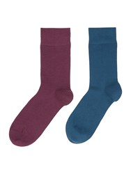 Elle Bamboo Socks 2 Pack Multi