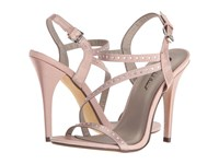 Michael Antonio Rest Satin Nude Women's Dress Sandals Beige