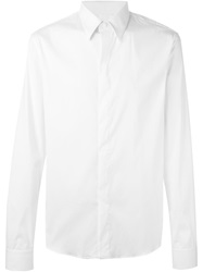 Givenchy Pointed Collar Shirt White