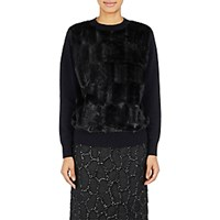 Dries Van Noten Women's Madeleine Sweater Navy