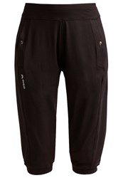 Erima Green Concept 3 4 Sports Trousers Black
